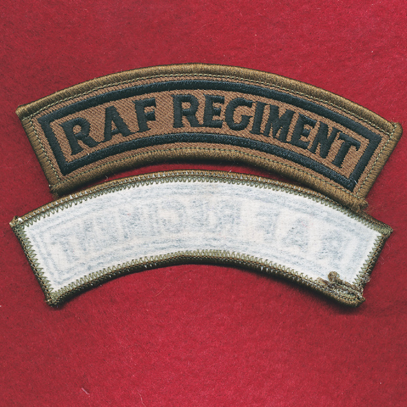 RAF REGIMENT Patch