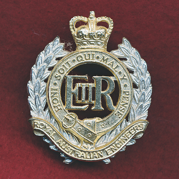 Hat Badge - RAE  (60/85)