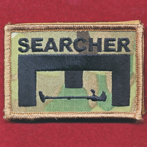 Afghanistan - ENGNR -  SEARCHER Patch