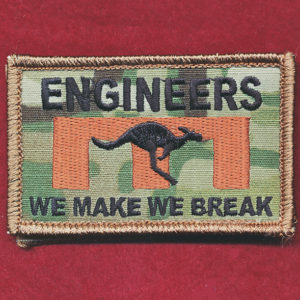 Afghanistan - ENGNR -  WE MAKE.. WE BREAK  Patch