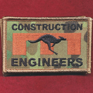 Afghanistan - ENGNR -  CONSTRUCTION ENGINEERS Patch
