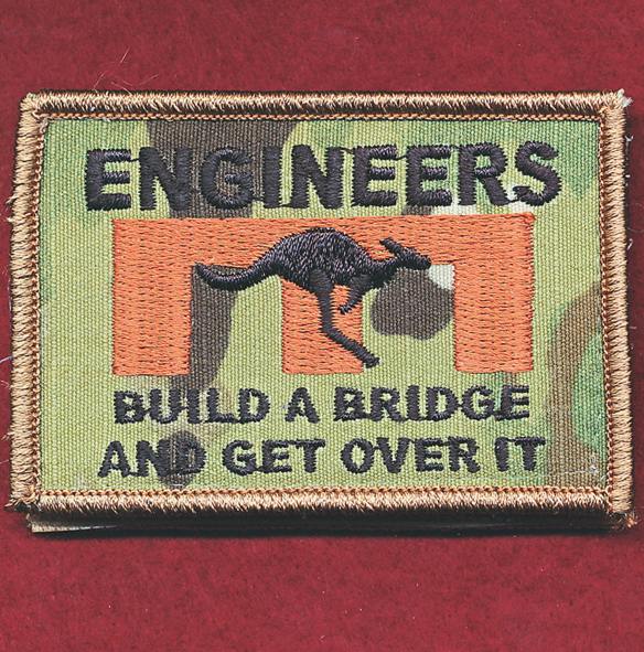 Afghanistan - ENGNR -  Build a bridge and get over it