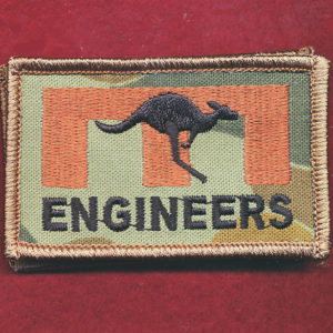 Afghanistan - ENGNR -  ENGINEERS Patch