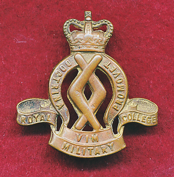 Hat/Collar Badge - RMC  1953-60