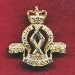 Hat/Cap /Collar Badge - RMC  (53/60)