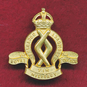Hat/Cap /Collar Badge - RMC  (48/53)