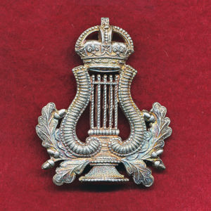 Bandmaster/Bandsman Badge - Metal (Silver finish)