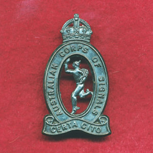 Hat Badge - Australian Corps of Signals (30/42)