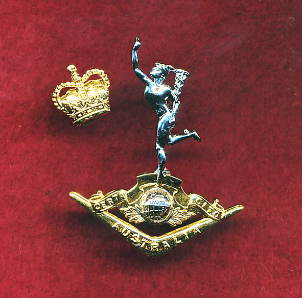 Hat Badge - RA SIGS (post 1996)