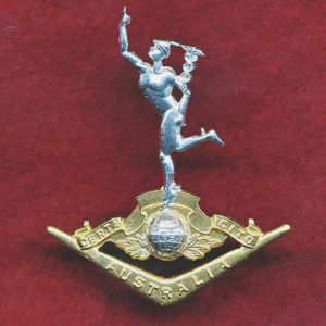 Collar Badge - RA SIGS  (60/85)  (w/L)
