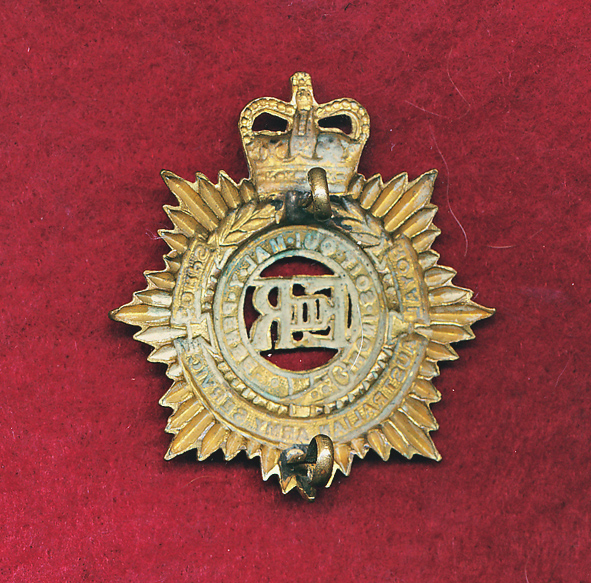 Hat Badge - RAASC - ORs  (53/60)