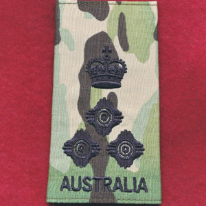 Brigadier Rank Slide - (Multicam)