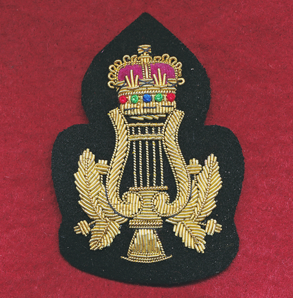 Bandmaster/Bandsman Badge - Bullion