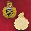 General Officer Cap Badge - Gold Embroidery (ca1980-90)