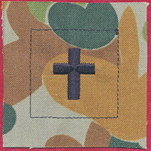 Chaplains Department patch DPCU  - Christian Chaplain