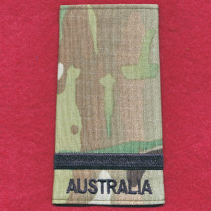 Flying Officer rank slide - RAAF - (Multicam)