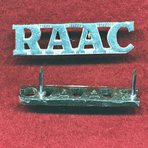 RAAC - Shoulder Title (A/A)