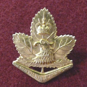 8/7th INF BN Hat Badge (53/60)