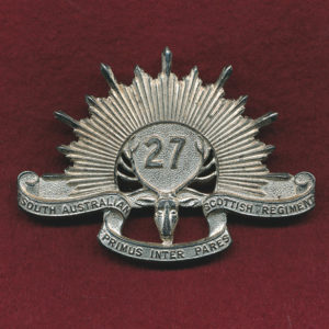27th INF BN Hat Badge (SASR) (53/60)