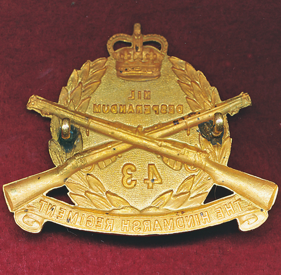 43/48th INF BN Hat Badge  (53/60)
