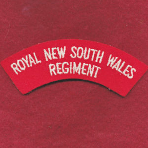 RNSWR Shoulder Title (62/96)