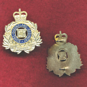 RQR Collar Badges x 2 (60/85)