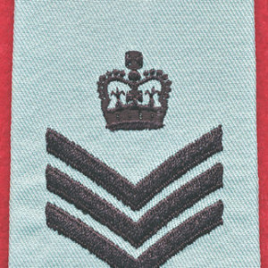 Flight Sergeant rank slide - RAAF
