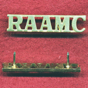 Shoulder title - RAAMC  (A/A)