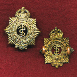 Collar Badge - AAMC Australian Army Medical Corps (30/42)