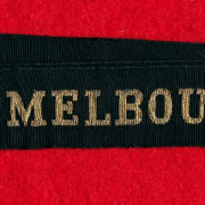 HMAS MELBOURNE tally band (#2)