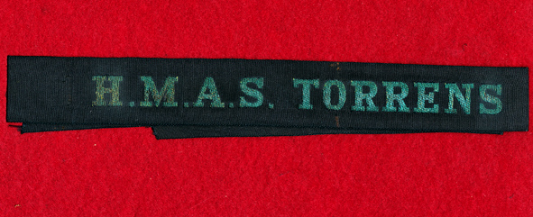 HMAS TORRENS Tally band