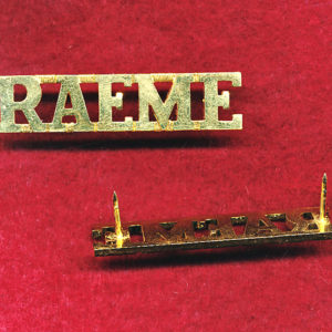 Shoulder Title - RAEME  (ca97)