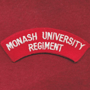 Monash University Regiment Shoulder Title (u/B)