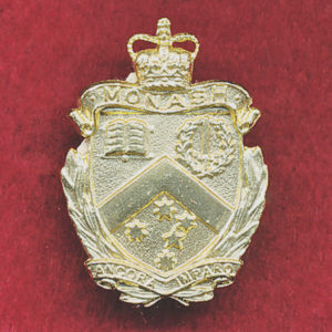 Monash University Regiment Collar Badge (60/85)