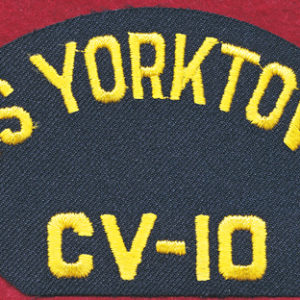 USS YORKTOWN Baseball cap patch