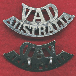 Voluntary Aid Detachment Australia title