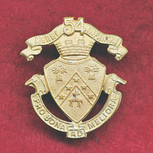54th Infantry  (Merri) Collar Badge (VIC)  (12/18)