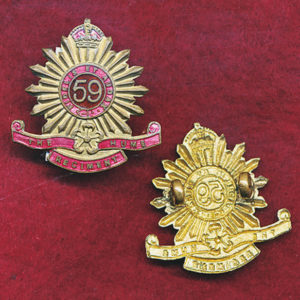 59 INF BN Collar Badge (Hume Regt) (30/42)