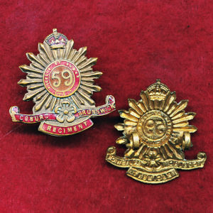 59 INF BN Collar Badge (C-B Regt) (30/42)