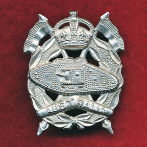 RAAC Hat Badge (S&H)(48/53)