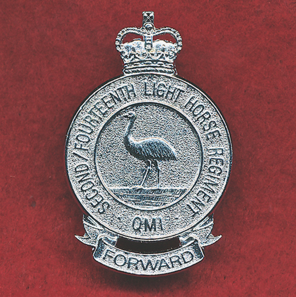 2/14 LHR (QMI) - Hat Badge (AJParkes)(Rejected)