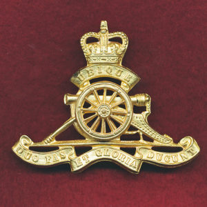 Hat Badge - RAA  Officers (53/60)