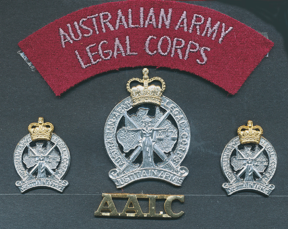 Hat and Collar badge set - AALC