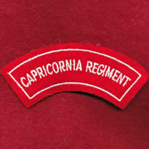 Capricornia Regiment Embroidered Shoulder Title