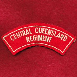 Central Queensland Regiment Shoulder Title (#1)