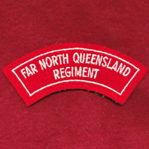 Far North Queensland Embroidered Shoulder Title