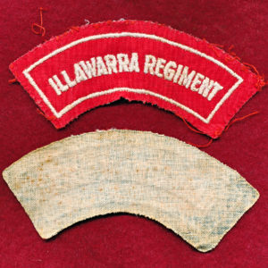 Illawarra Regiment Embroidered Shoulder Title (#2)