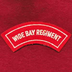 Wide Bay Regiment Embroidered Shoulder Title