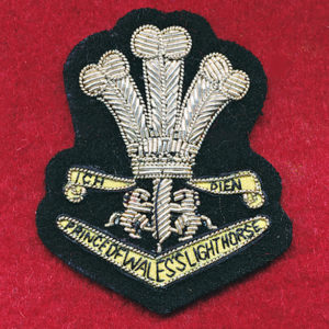 4/19th PWLH Bullion Beret badge