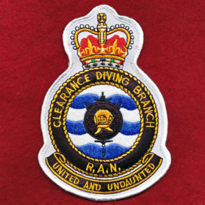 Clearance Diving Branch Chest Patch - RAN